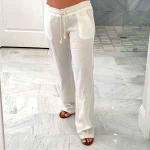 ROXY Linen Pants. New !